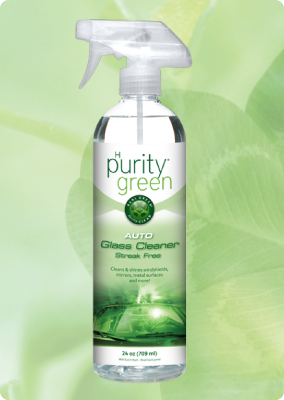 Phurity Green Auto Glass Cleaner